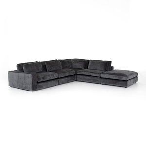 Thumbnail of Four Hands - Bloor Four Piece Left Arm Facing Sectional with Ottoman