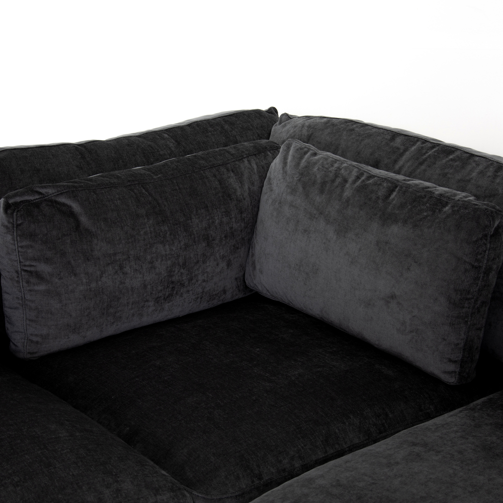 Four Hands - Bloor Four Piece Left Arm Facing Sectional with Ottoman