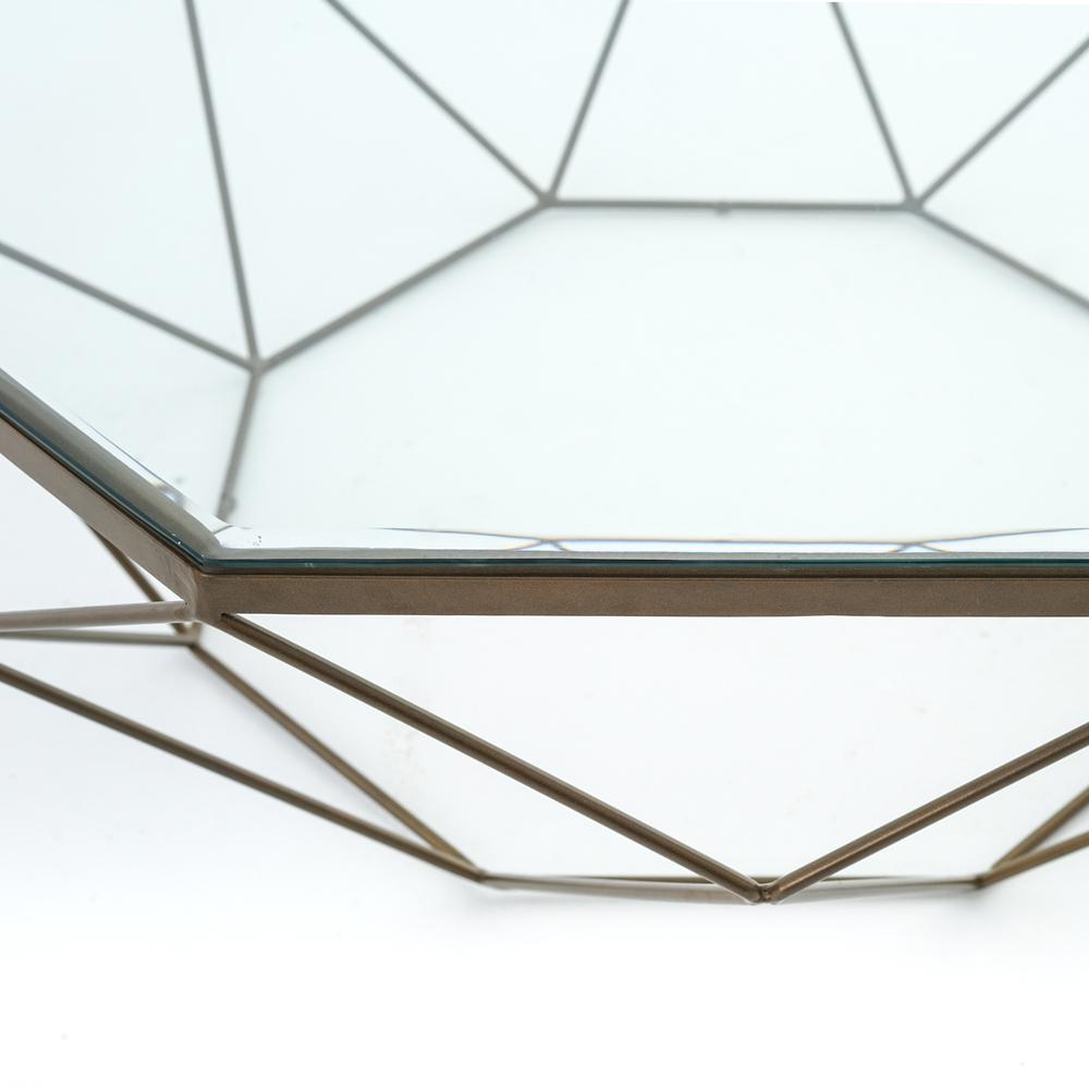 Four Hands - Geometric Coffee Table