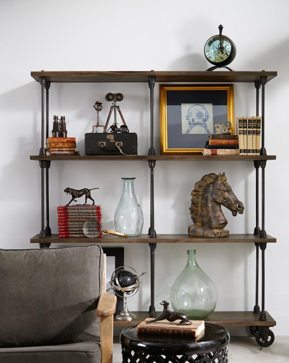 Four Hands - Rockwell Wooden Bookshelf