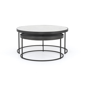 Thumbnail of Four Hands - Evelyn Round Nesting Coffee Table