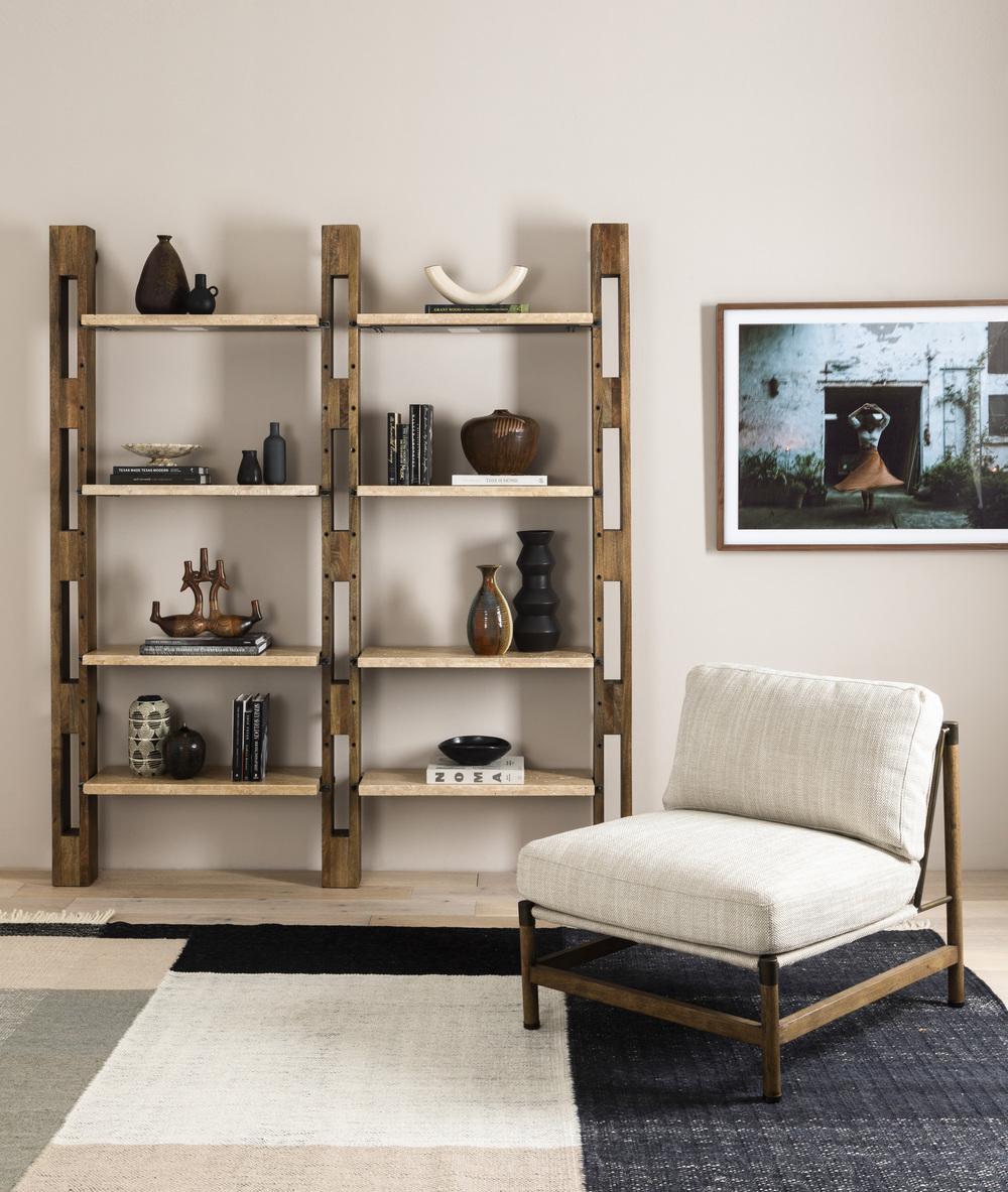 Four Hands - Ortega Bookshelf