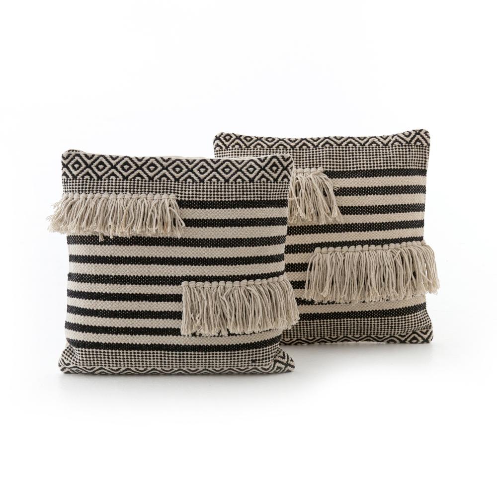 Four Hands - Split Fringe Pillow, Set/2