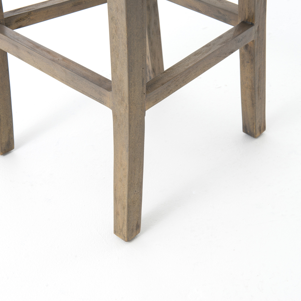 Four Hands - Banana Leaf Counter Stool with Cushion
