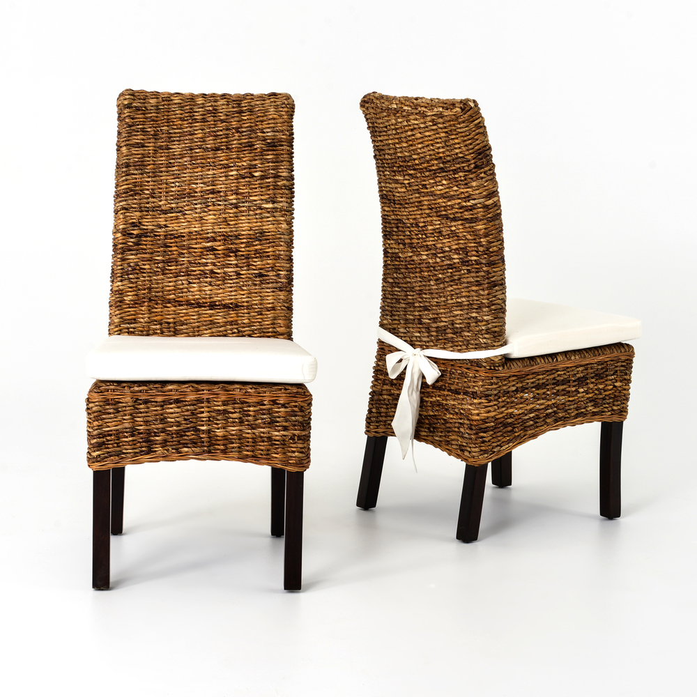 FOUR HANDS - Banana Leaf Chair with Cushion
