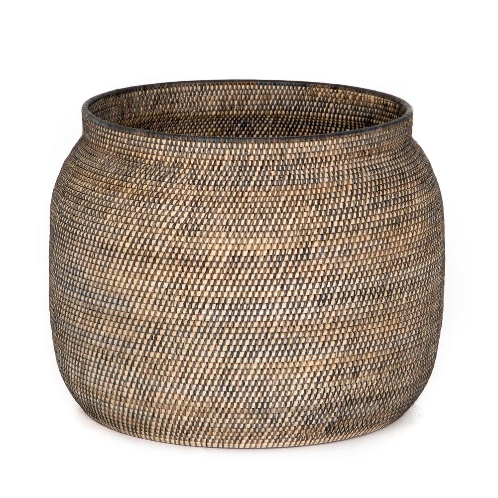 Four Hands - Ansel Contrast Black Basket