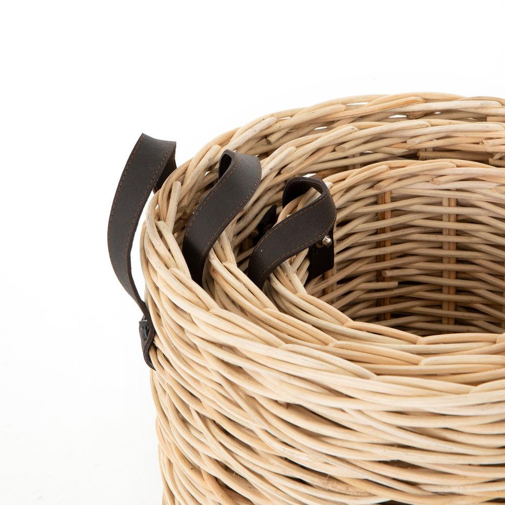 Four Hands - Ember Natural Baskets, Set/3