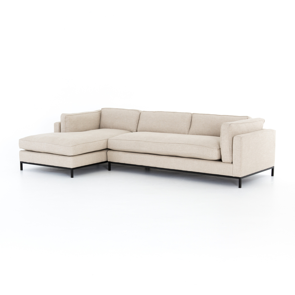 Four Hands - Grammercy Two Piece Left Arm Facing Sectional