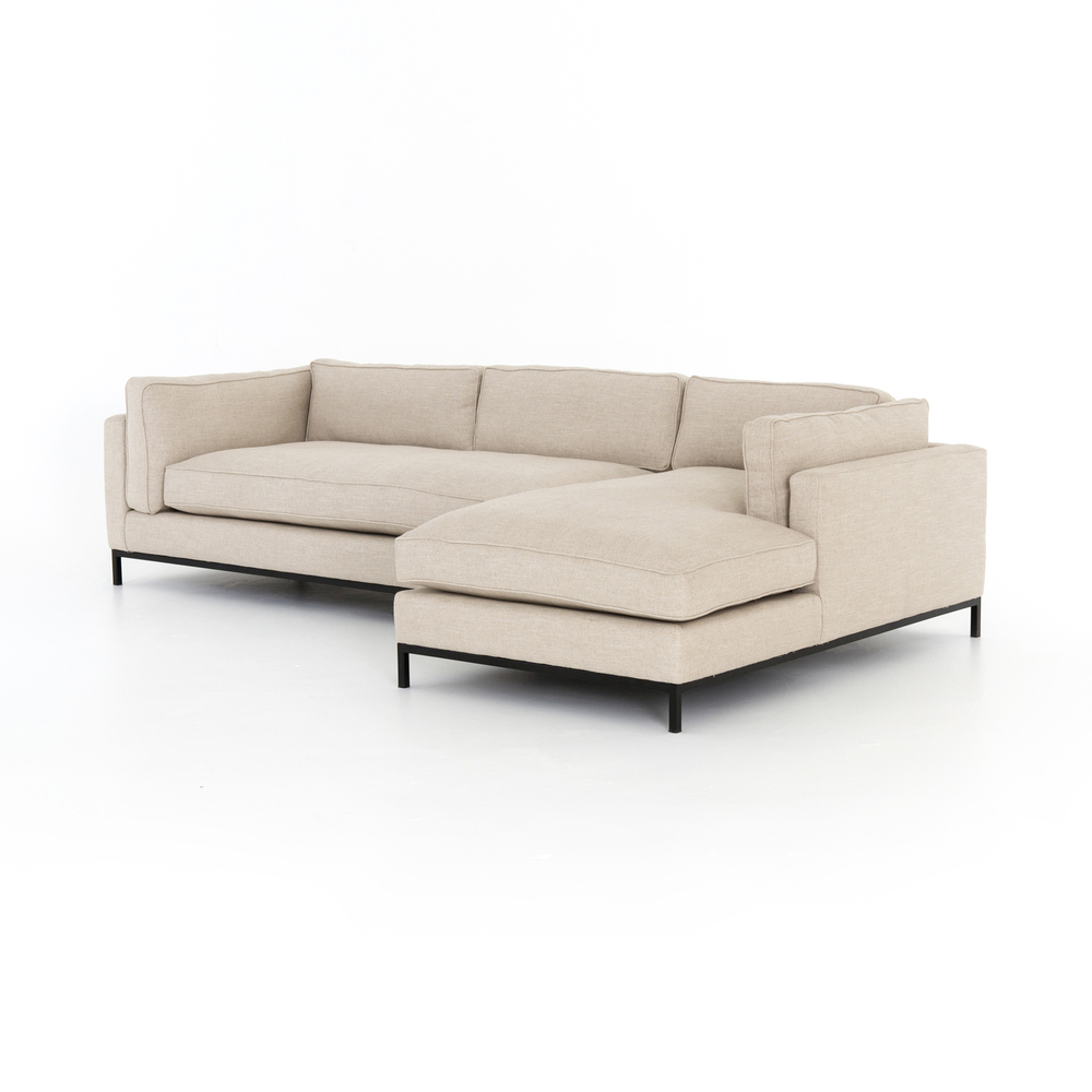 Four Hands - Grammercy Two Piece Right Arm Facing Sectional