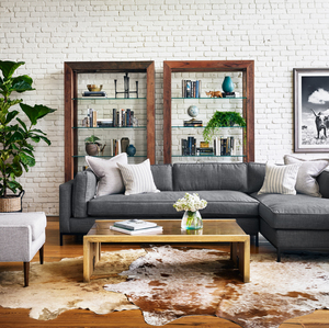 Thumbnail of Four Hands - Grammercy Two Piece Sectional with Right Arm Facing Chaise