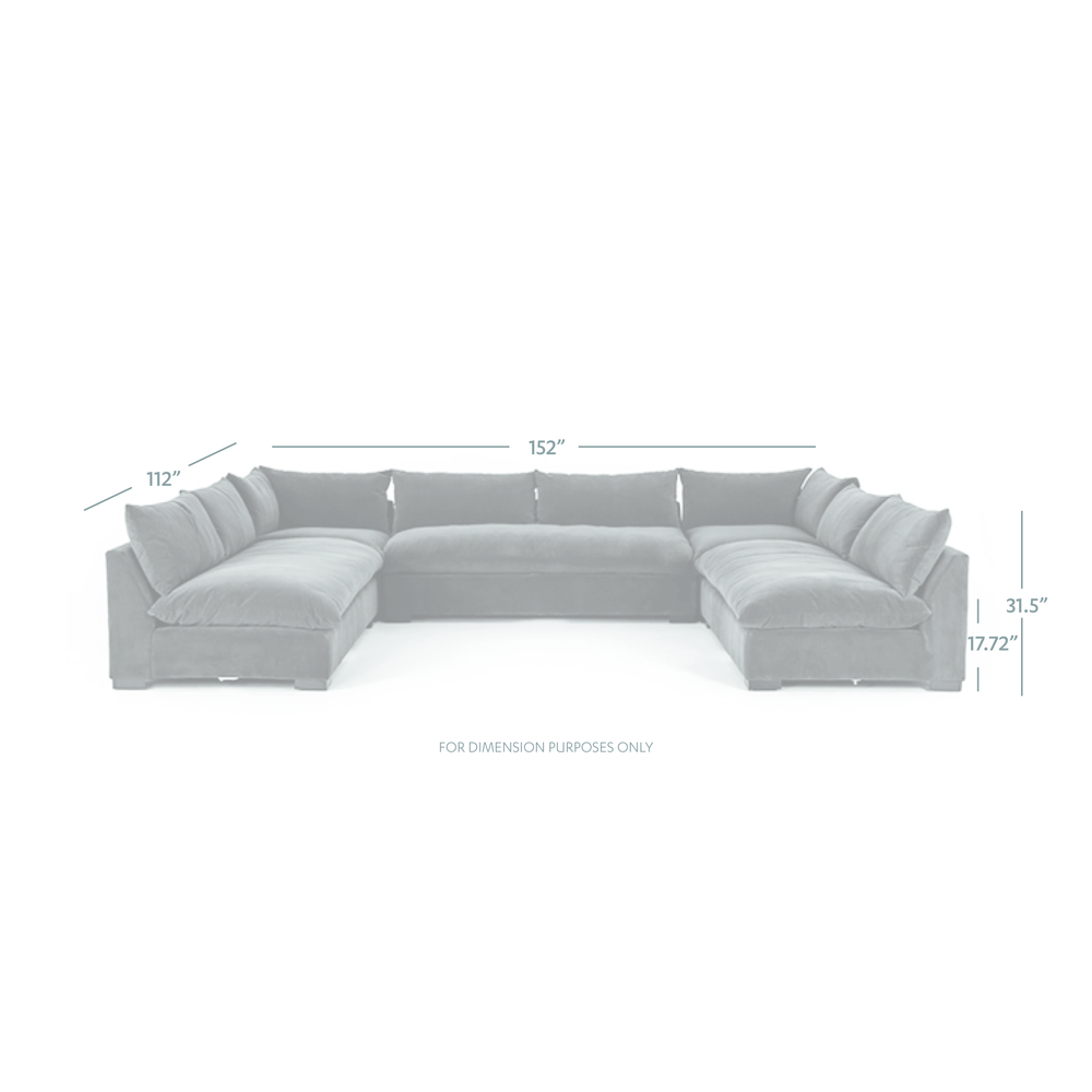 Four Hands - Grant Five Piece Sectional