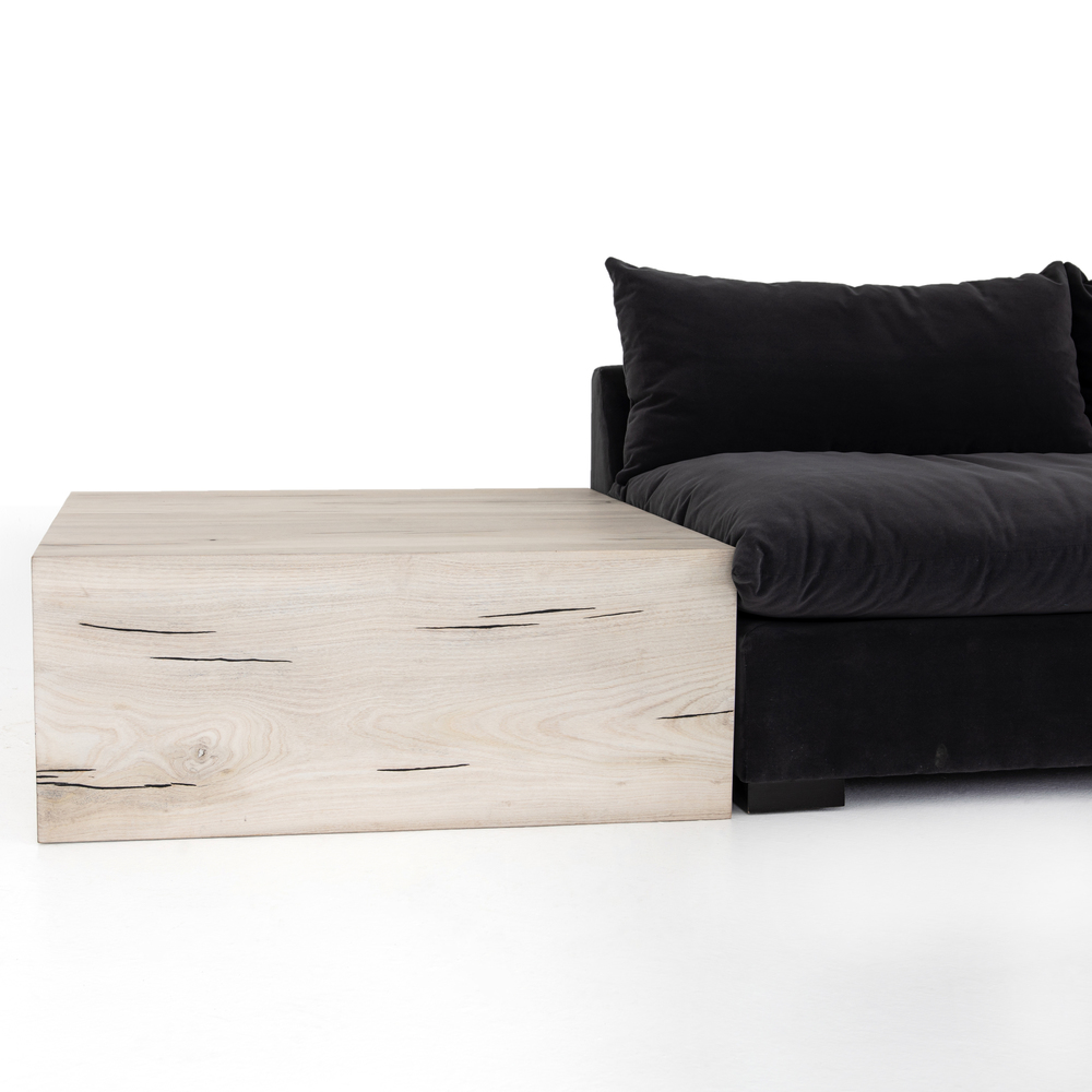 Four Hands - Grant Two Piece Sectional with Corner and End Table