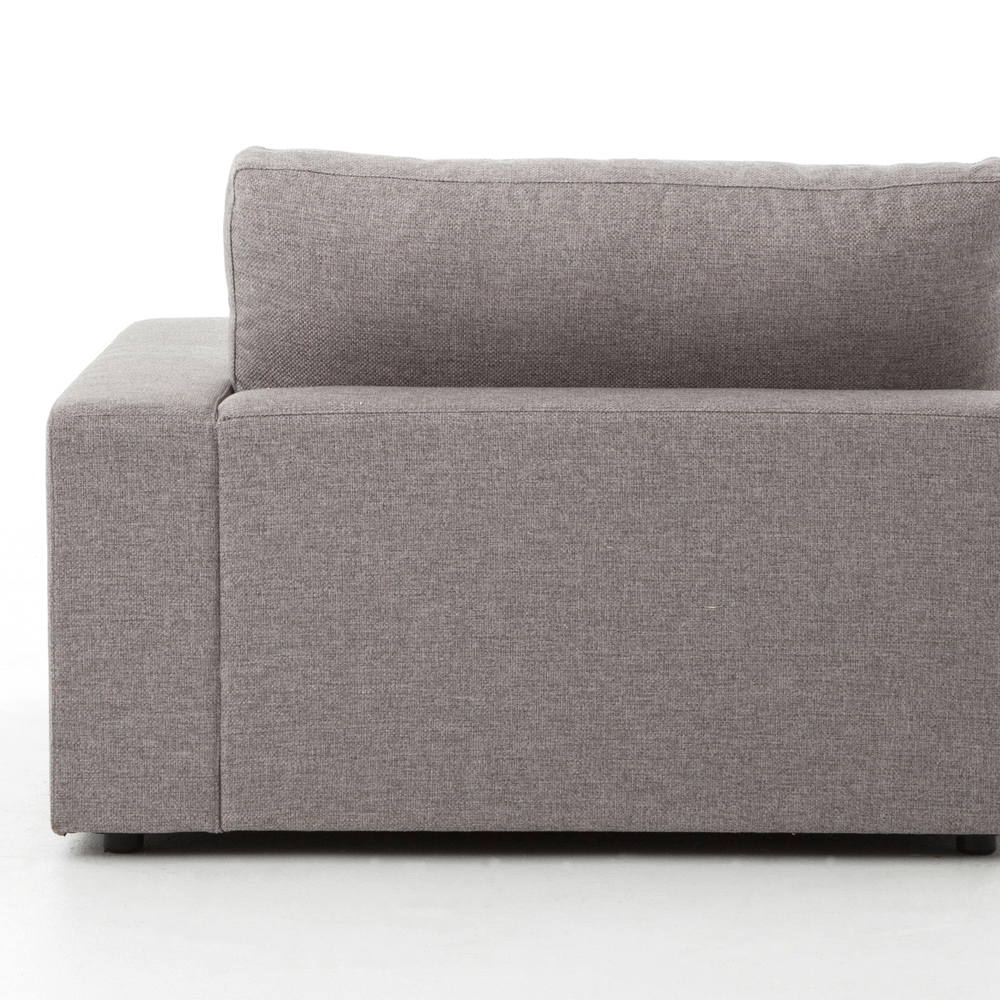 Four Hands - Bloor Five Piece Right Arm Facing Sectional with Ottoman