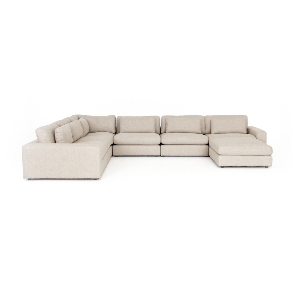 Four Hands - Bloor Six Piece Sectional with Ottoman