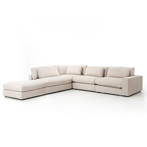Thumbnail of Four Hands - Bloor Four Piece Right Arm Facing Sectional with Ottoman