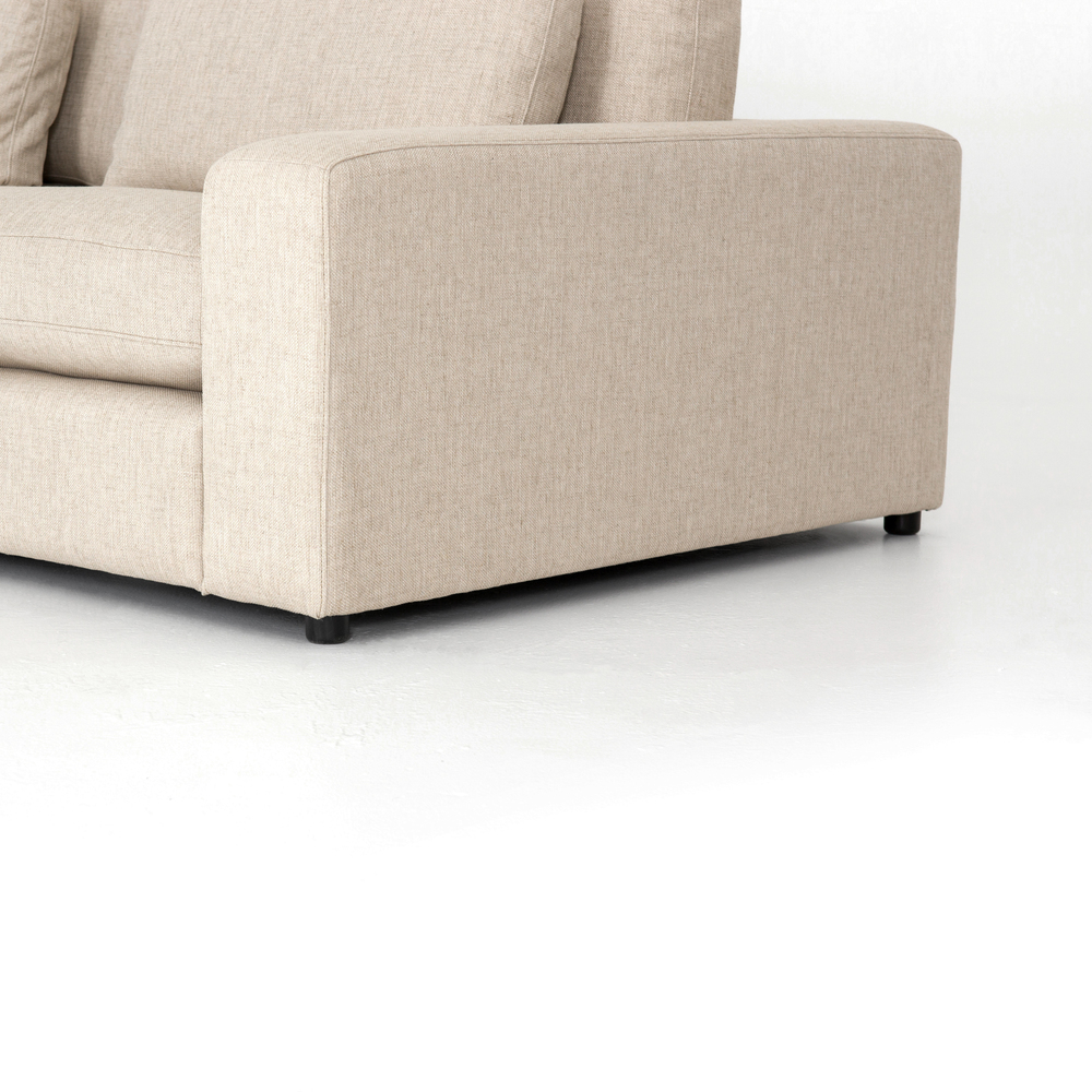 Four Hands - Bloor Four Piece Right Arm Facing Sectional with Ottoman