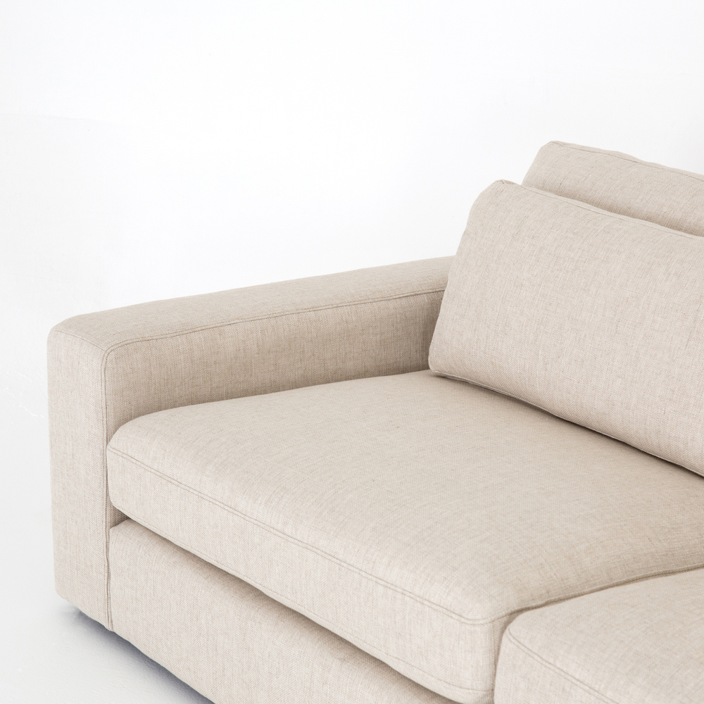 Four Hands - Bloor Five Piece Sectional with Ottoman