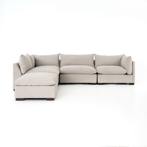 Thumbnail of Four Hands - Westwood Four Piece Sectional with Ottoman