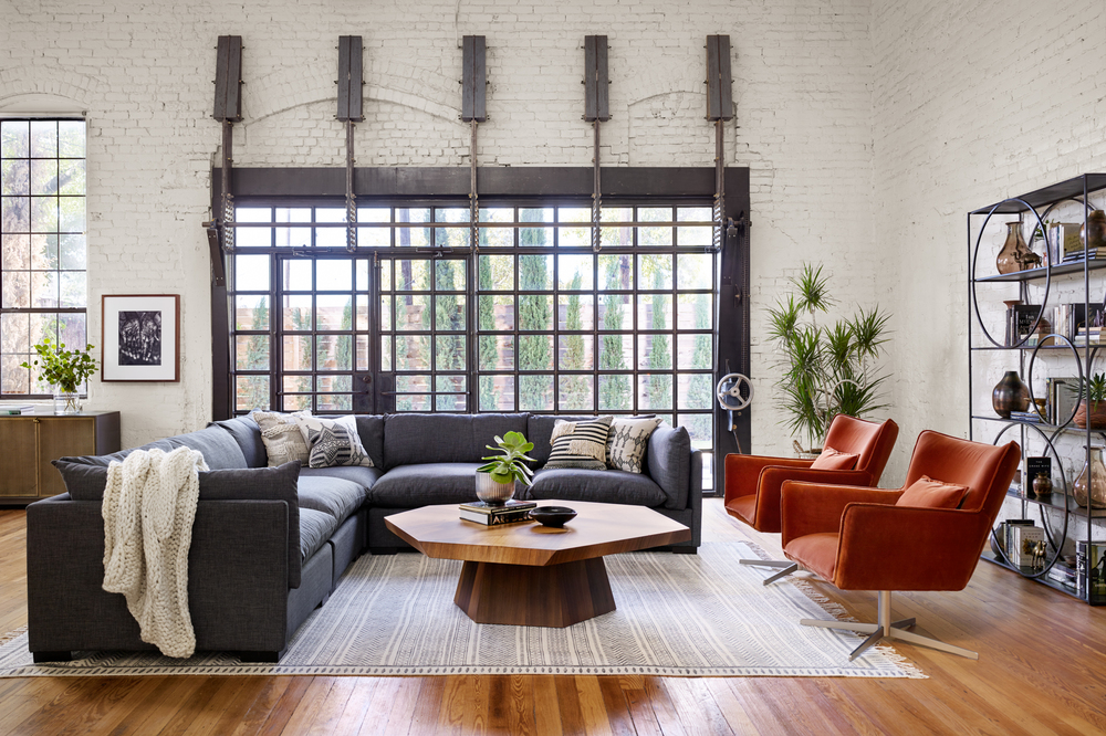 Four Hands - Westwood Five Piece Sectional