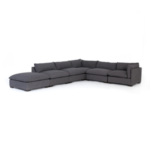 Thumbnail of Four Hands - Westwood Five Piece Sectional with Ottoman