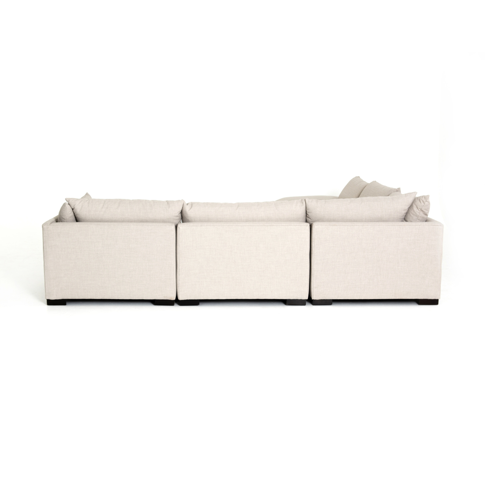 Four Hands - Westwood Five Piece Sectional with Ottoman