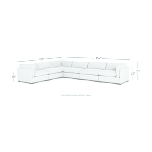 Thumbnail of Four Hands - Westwood Six Piece Sectional