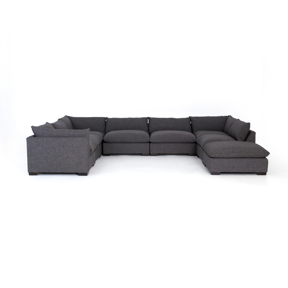 Four Hands - Westwood Seven Piece Sectional with Ottoman