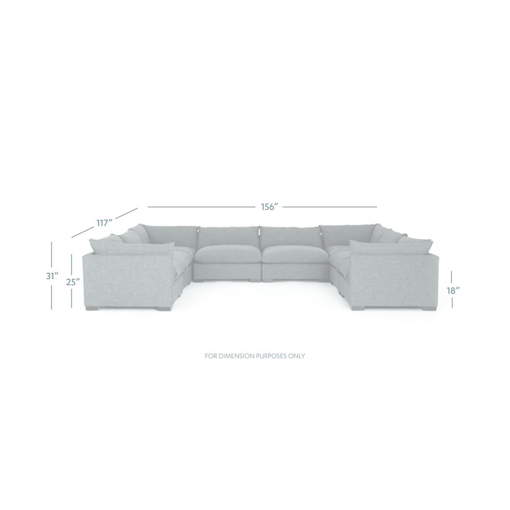 Four Hands - Westwood Eight Piece Sectional