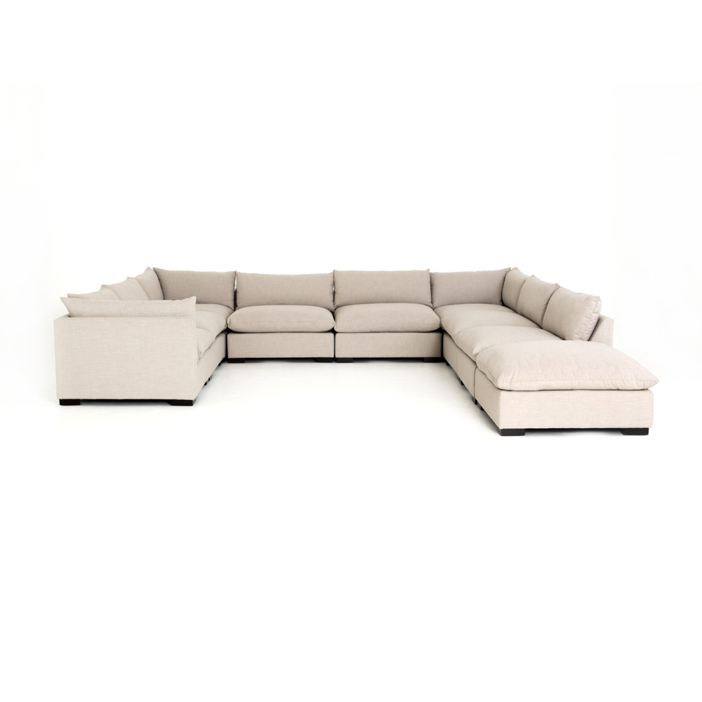 Four Hands - Westwood Eight Piece Sectional with Ottoman