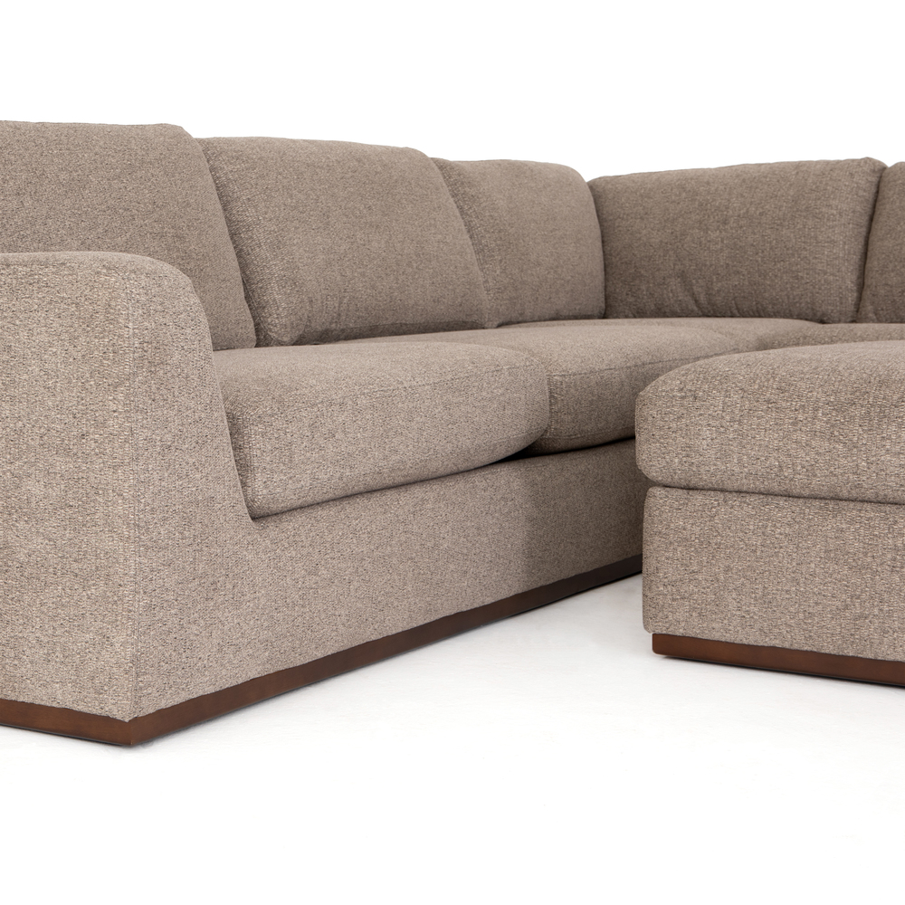 Four Hands - Colt Three Piece Sectional with Ottoman