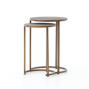 Thumbnail of Four Hands - Shagreen Nesting Table