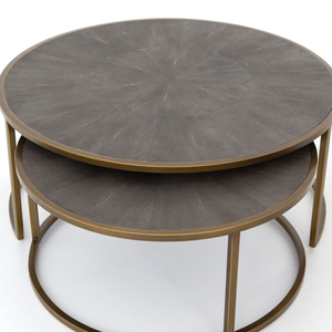 Thumbnail of Four Hands - Shagreen Nesting Coffee Table