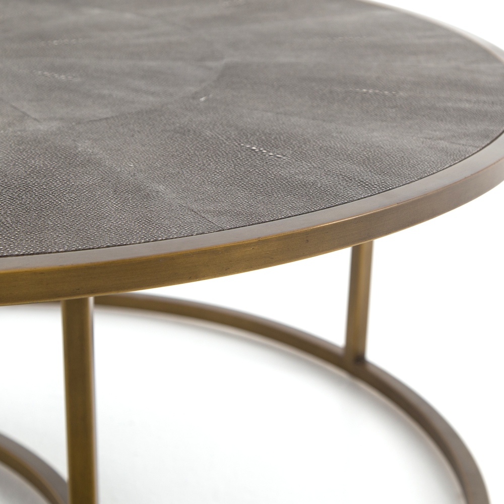 Four Hands - Shagreen Nesting Coffee Table