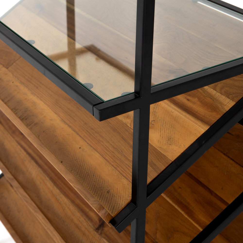 Four Hands - Mondrian Open Bookcase