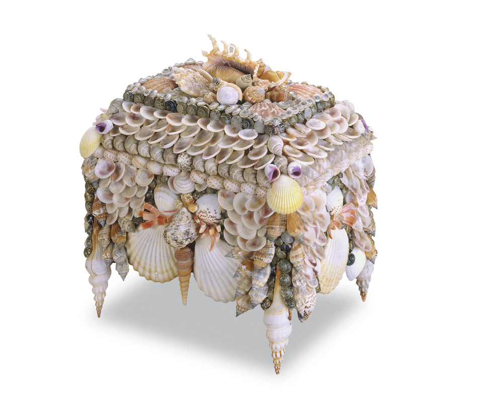Currey & Company - Boardwalk Shell Jewelry Box