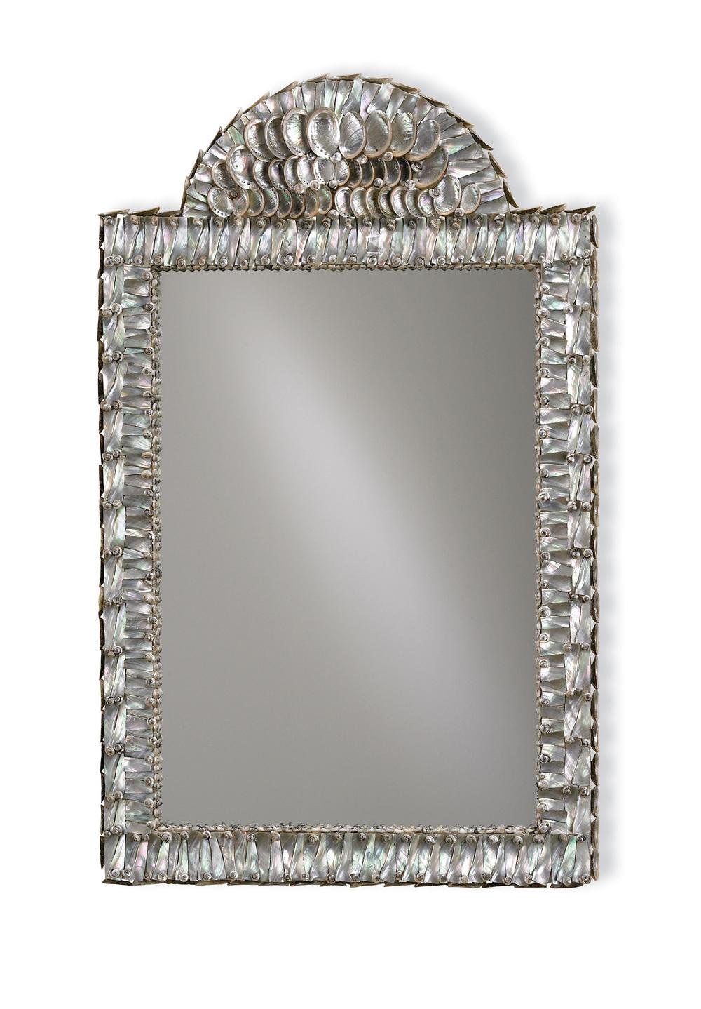 Currey & Company - Abalone Mirror
