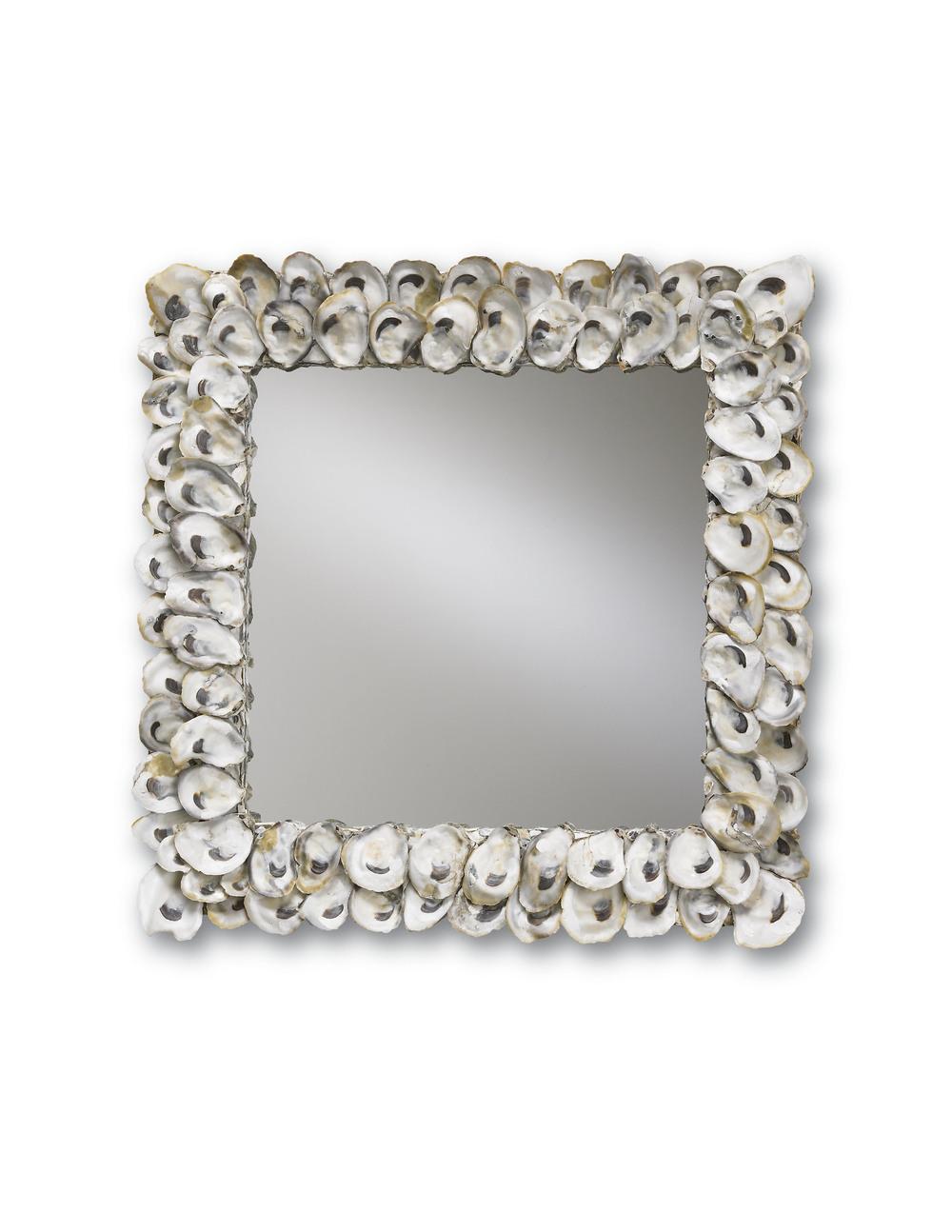 Currey & Company - Oyster Shell Mirror