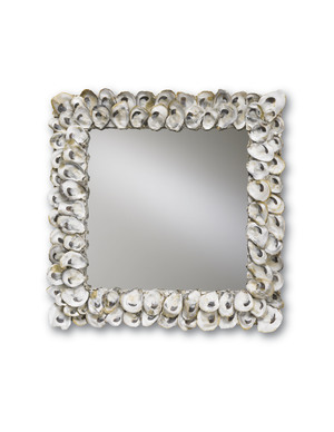 Thumbnail of Currey & Company - Oyster Shell Mirror