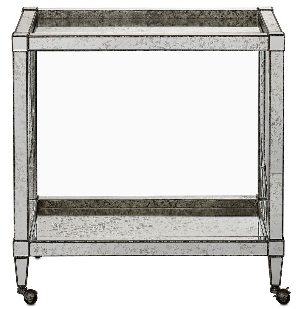 Currey & Company - Monarch Bar Cart