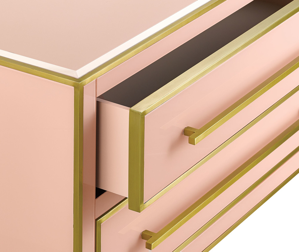 Currey & Company - Arden Pink Chest