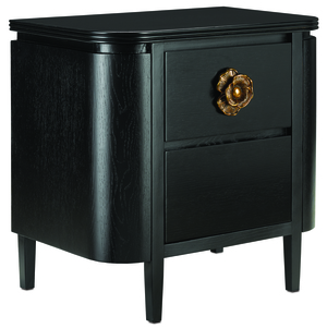 Thumbnail of Currey & Company - Briallen Black Nightstand