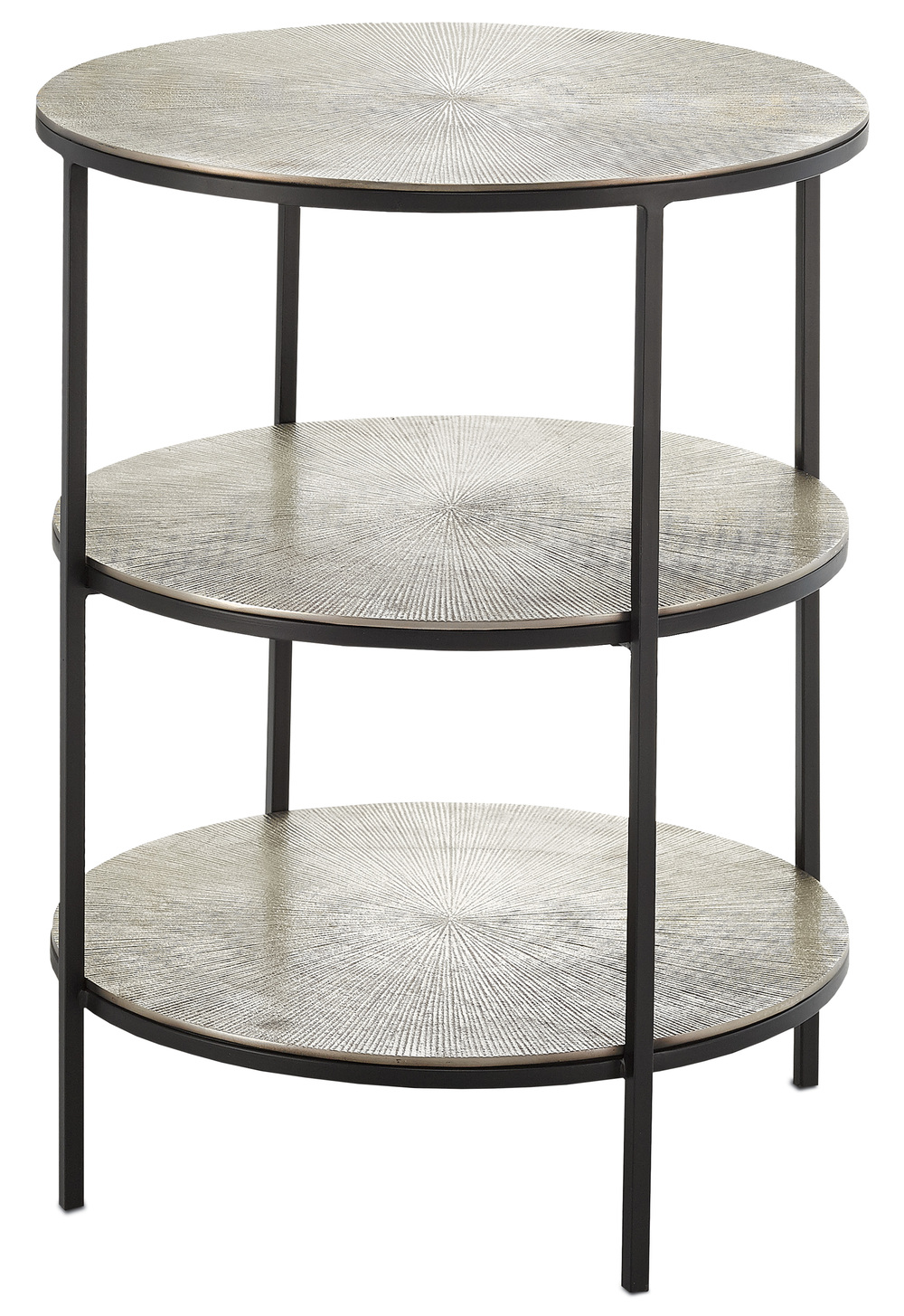 Currey & Company - Cane Accent Table