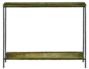 Thumbnail of Currey & Company - Boyles Brass Console Table