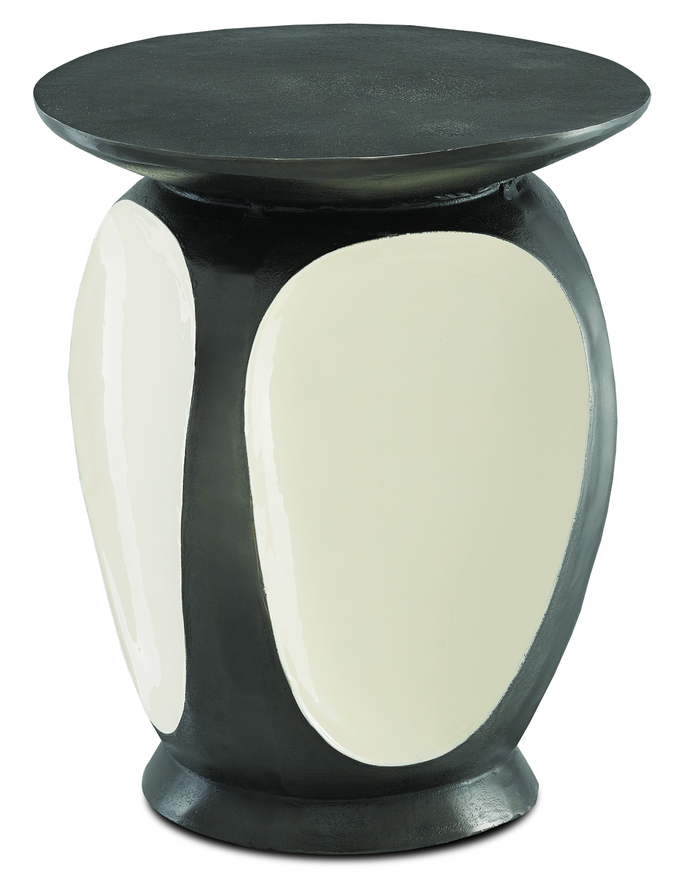 Currey & Company - Malmo Graphite Accent Table