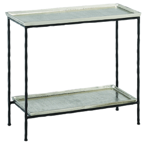 Thumbnail of Currey & Company - Boyles Silver Side Table