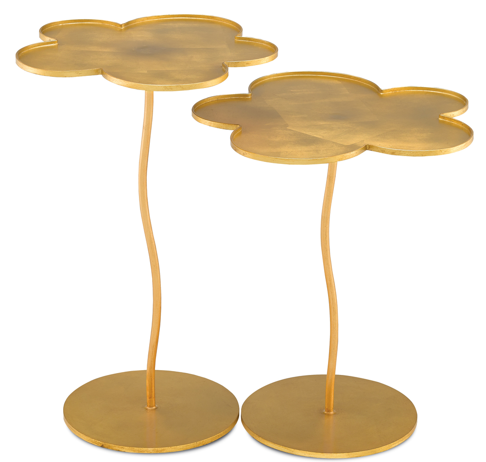 Currey & Company - Fleur Large Accent Table