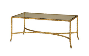 Thumbnail of Currey & Company - Gilt Twist Cocktail Table