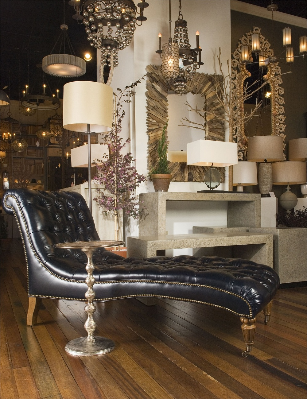 Currey & Company - Hookah Accent Table