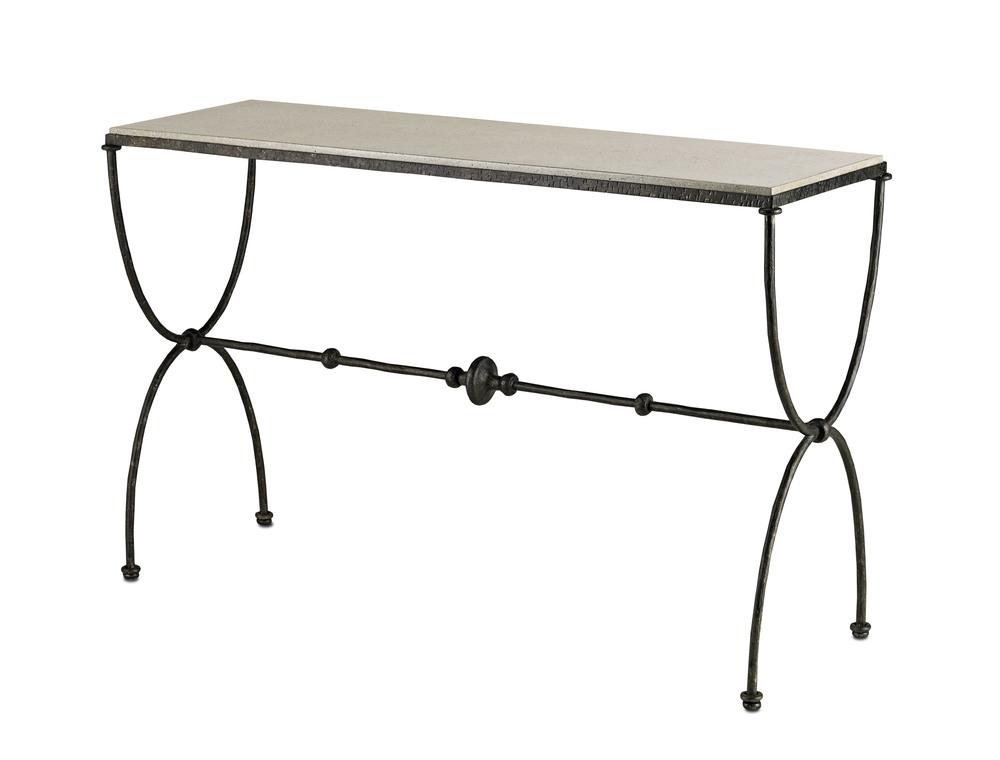 Currey & Company - Agora Console Table
