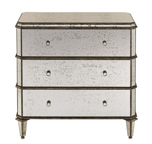 Thumbnail of Currey & Company - Antiqued Mirror Chest